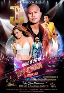 Jay Chan in Concert – San Diego 2019