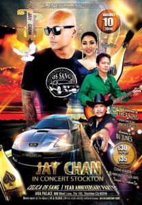 Jay Chan in Concert – Stockton 2019