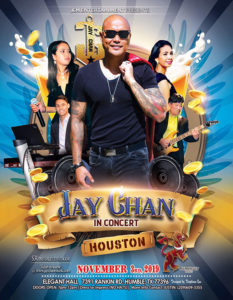 Jay Chan in Concert – Texas 2019