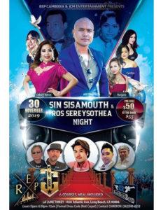 Sin Sisamouth & Ros Sereysothea Night 2019