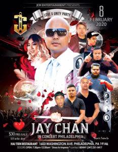 Jay Chan in Concert – Philadelphia 2020