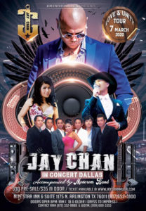 Jay Chan in Concert – Dallas 2020