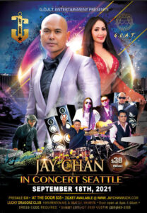 Jay Chan in Concert – Seattle 2021