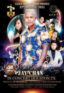 Jay Chan in Concert – Houston 2021